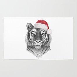 Christmas Tiger Rug