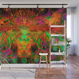 The Flying Shaman (Tribal Zest) Wall Mural