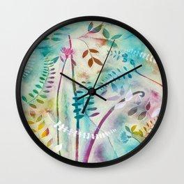 Wild Garden 2 Wall Clock