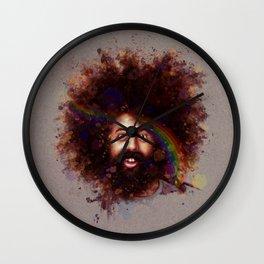 Reggie Watts Wall Clock
