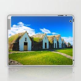 Traditional icelandic farmhouse Laptop & iPad Skin