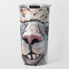 Alpaca Art, Diesel the Alpaca Travel Mug