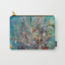Landscape Emerald-Red Carry-All Pouch