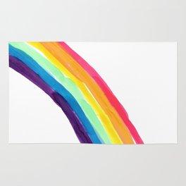 rainbow simple Rug