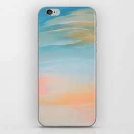 Fresh Colors Painterly Abstract iPhone Skin
