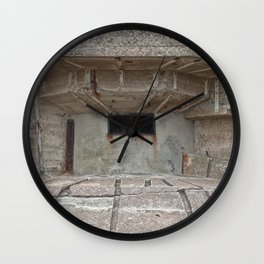 Jersey War Bunker Wall Clock
