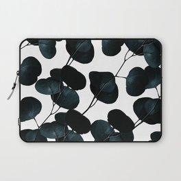 Dark Leaves #society6 #artforsale Laptop Sleeve