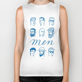 Men (are not all the same) Biker Tank