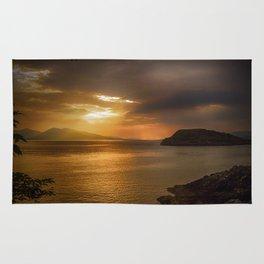 Sunset at Lismore Island Rug