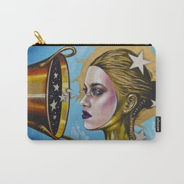 Eclipse 1 (Myth about the sun & stars) Carry-All Pouch