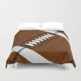 Fantasy Football Super Fan Touch Down Duvet Cover