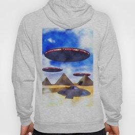 Ancient Aliens - UFO Pyramids Hoody