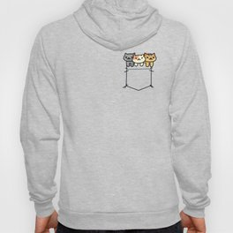 Pocket Cats! Hoody