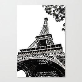 Eiffel Tower in Paris, France. Canvas Print