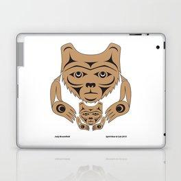 Spirit Bear & Cub by: Jody Broomfield Laptop & iPad Skin
