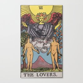 06 - The Lovers Canvas Print