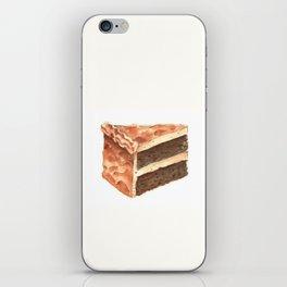 Chocolate Cake Slice iPhone Skin