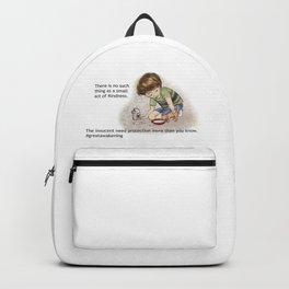 Love is Kind #greatawakening Backpack