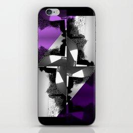 Fractal Wind Vane Skyline iPhone Skin