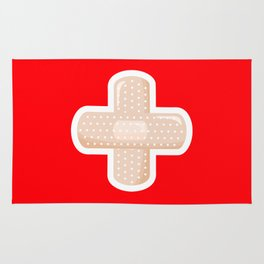 First Aid Plaster Rug