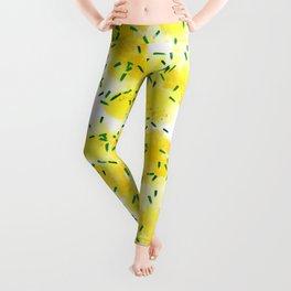 Lemons Explosion #society6 #lemons Leggings