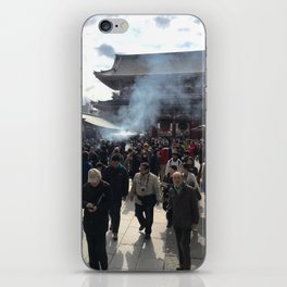 The Temple iPhone Skin