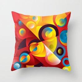 Cosmogony #04 Throw Pillow
