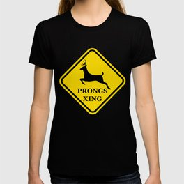 prongs xing T-shirt