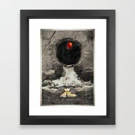 Stephen King's IT Framed Art Print