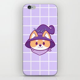 Witch Doggo iPhone Skin