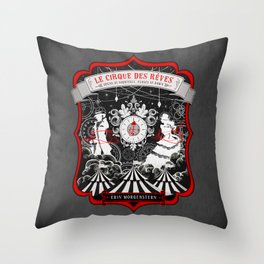 The Night Circus Throw Pillow