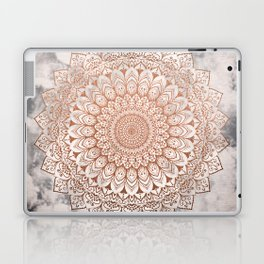 ROSE NIGHT MANDALA Laptop & iPad Skin