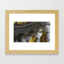 Golden Hagia Sophia  Framed Art Print