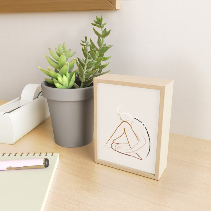 Harmony Framed Mini Art Print