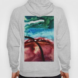 the earth is on fire Hoody