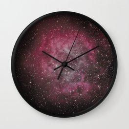 Rosette Nebula #2 Wall Clock