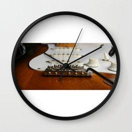 Electric Guitar close up  Wall Clock