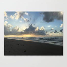 Sunset at Surfside Beach Canvas Print