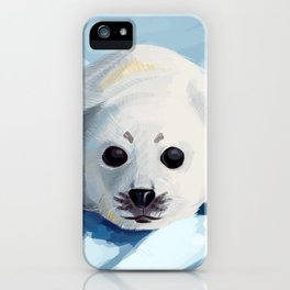 Baby Seal iPhone Case