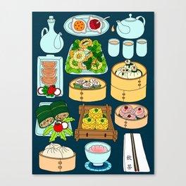 Dim Sum Lunch Canvas Print