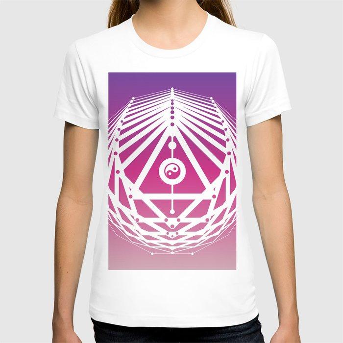 Radiant Abundance (warm purple-white) T-shirt
