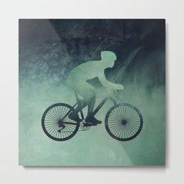 Bicycle lover Metal Print
