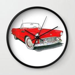 55 Thunderbird Wall Clock