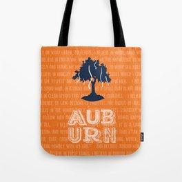 Auburn Creed Tote Bag