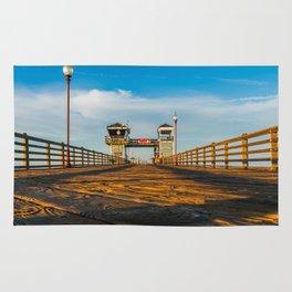 On Oceanside Pier Rug