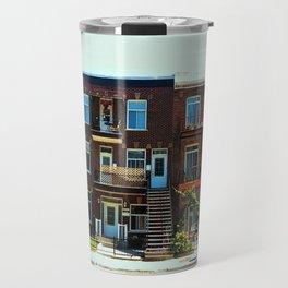 You and simmetry - Montreal Travel Mug