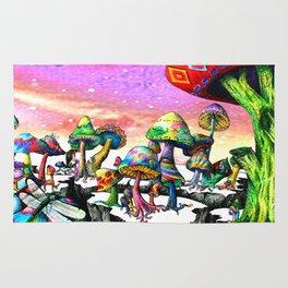 Mushroom Paradise Rug
