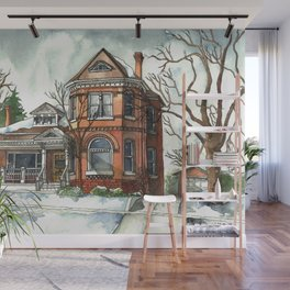 Victorian House in The Avenues Wall Mural