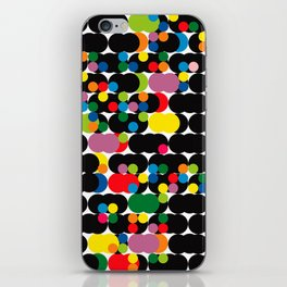 DOTS - polka 1 iPhone Skin