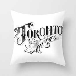 Toronto Love Throw Pillow